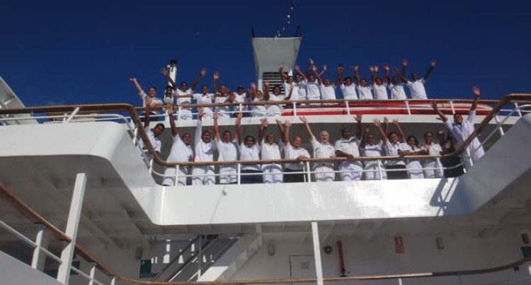 Cadet Life On A Passenger Ship