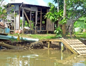 The effects of climate change taking place at Vutia village, Rewa on April 5, 2017.Photo:Vilimoni Vaganalau