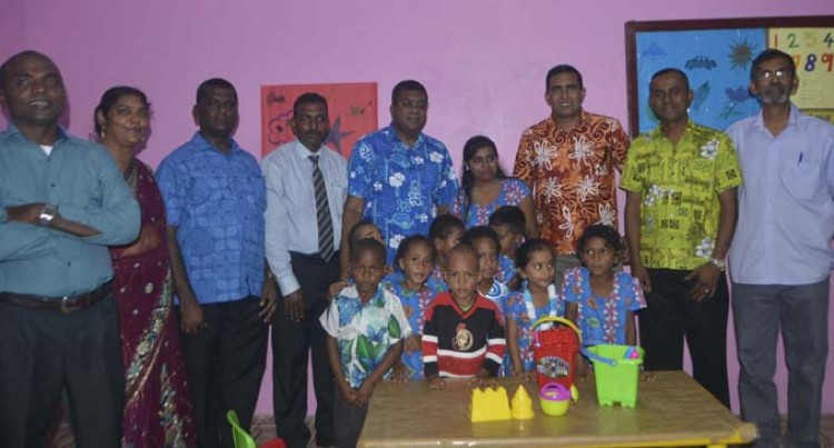 Reddy Opens New  Classroom For Tiny Tots