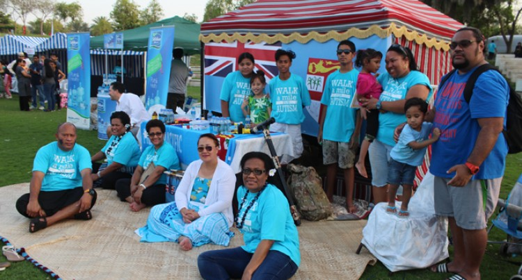 Bula Pasifik Group At Autism Event In Dubai