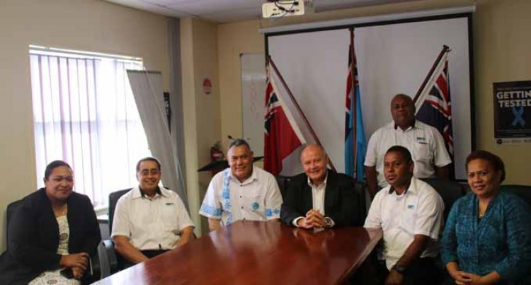 MSAF & Fijian High Commissioner To The United Kingdom Meet To Discuss Fiji's Representation At IMO Forums
