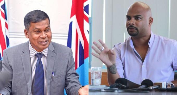 Raj, Prasad clash Over Hate speech on Social Media