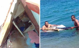 Boat Wreckage Found, Two Still Missing