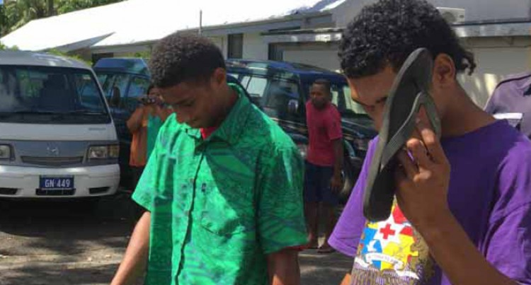 Two Receive Suspended Sentence