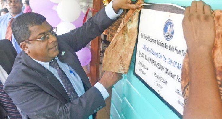 Vuci Methodist Gets New Classrooms