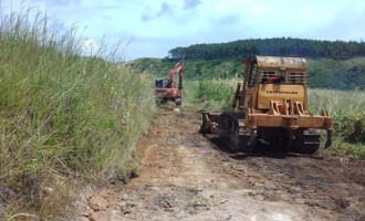 Construction Of Rural Roads In Kadavu Starts
