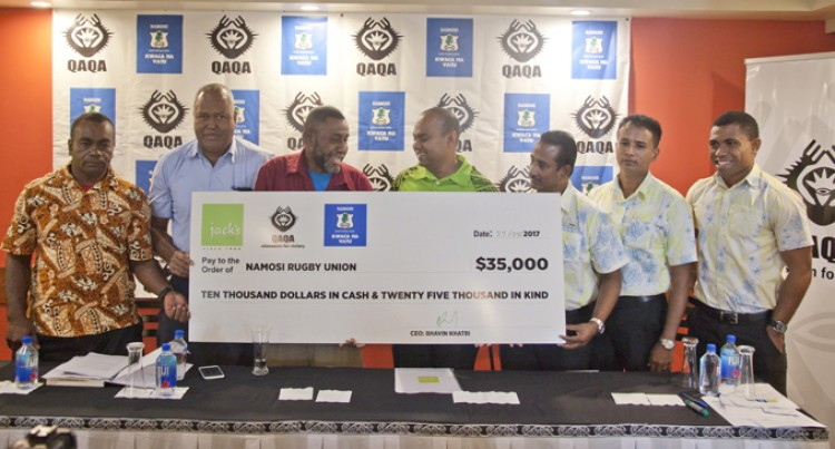 Namosi Rugby Receives Major Boost