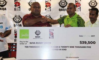 Jack's Support Suva Rugby
