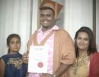 Krishnil Overcomes Tragedy To Graduate