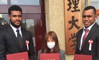 FIJIANS EXCEL IN JAPAN