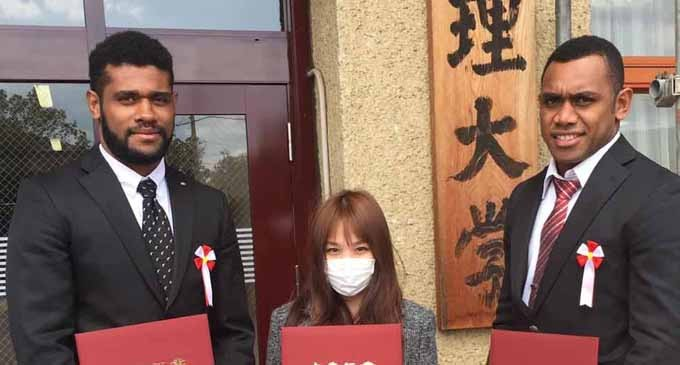 FIJIANS EXCEL IN JAPAN