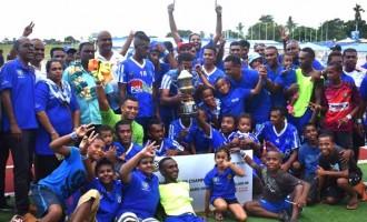 Blues Win CvC Series