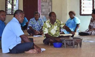 Tuiwanunu Advises Villages to Set Up Plans To Battle Poverty In Province