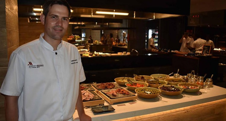 Knecht  is Fiji Marriott's first Executive Chef