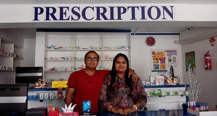 Couple open 100k pharmacy