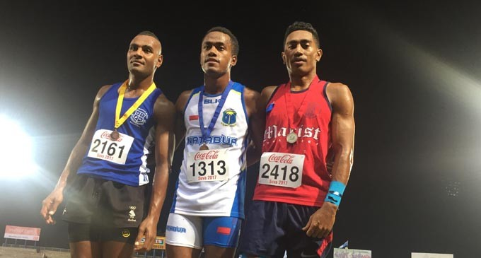 Tuvusa Is Coke's Fastest Athlete