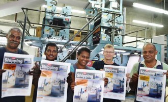 First Pacific UV Printing At The Fiji Sun