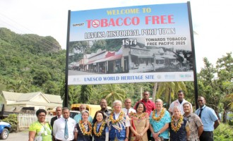 Levuka Declared Tobacco Free Town