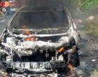 National Fire Authority Probe Car fire near Sigatoka