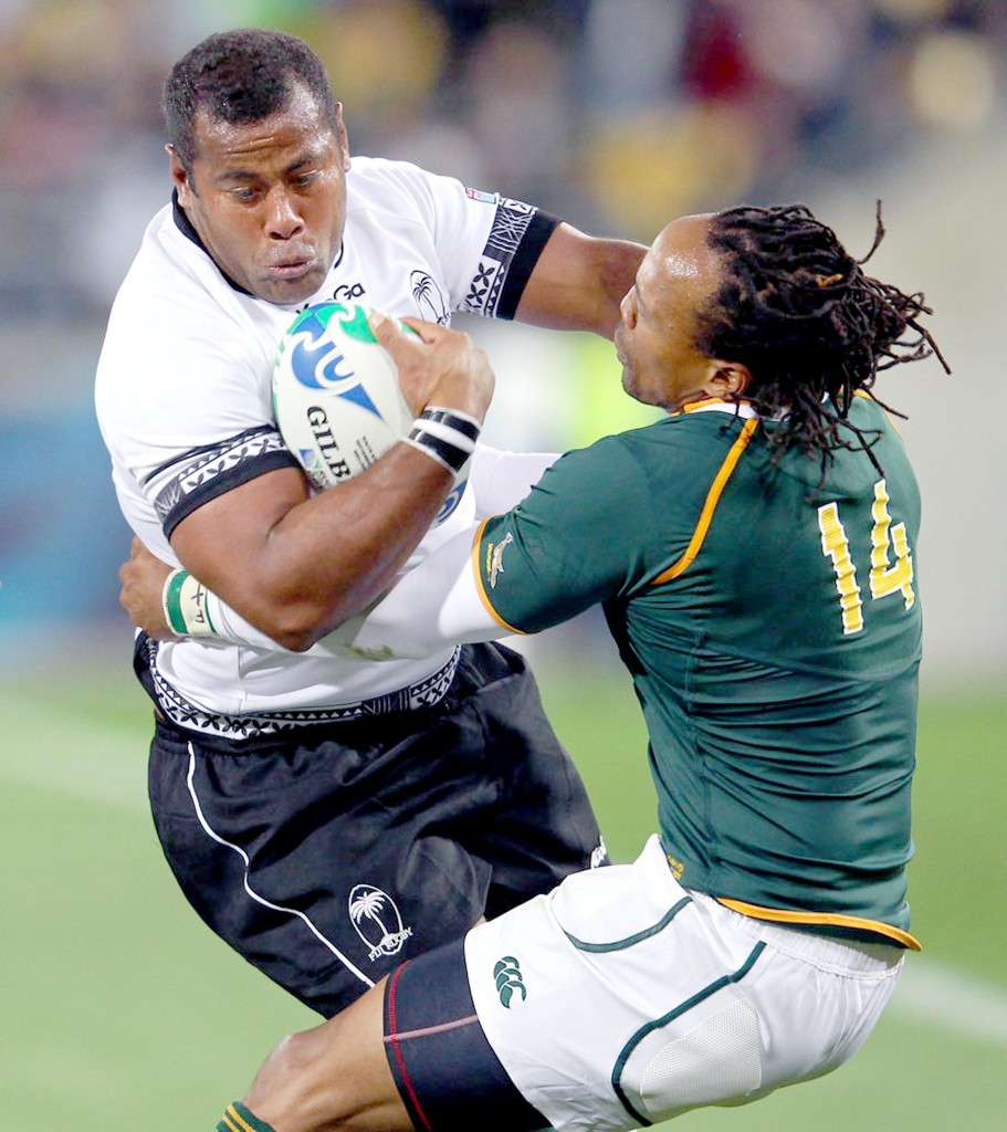 Sunia Koto Vuli in action against South Africa.