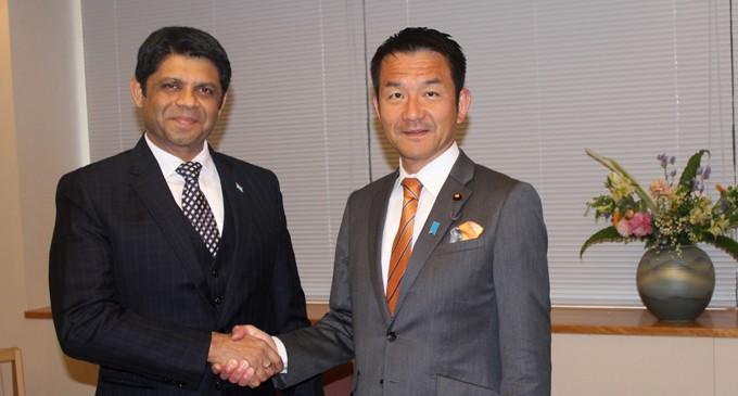 A-G Discusses COP23, Cyclone Reconstruction At Tokyo Talks