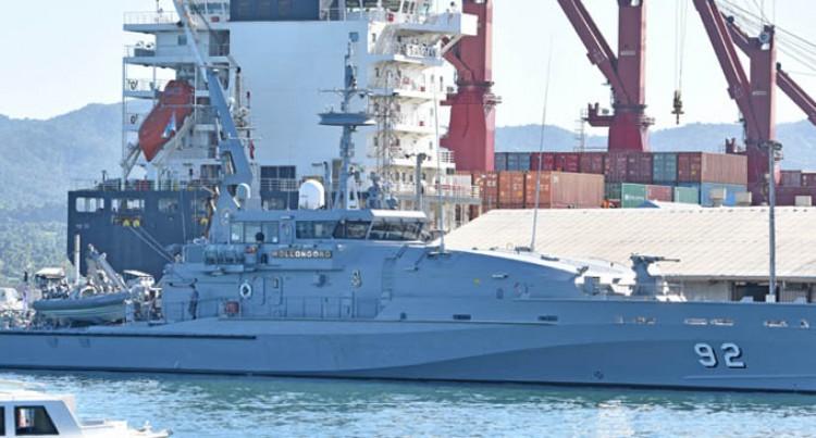 Australian Navy Crew Help Repair Suva Special School