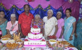 Latchmi Marks 102nd Birthday
