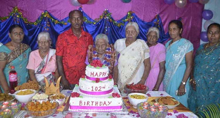 Latchmi Marks 102nd Birthday