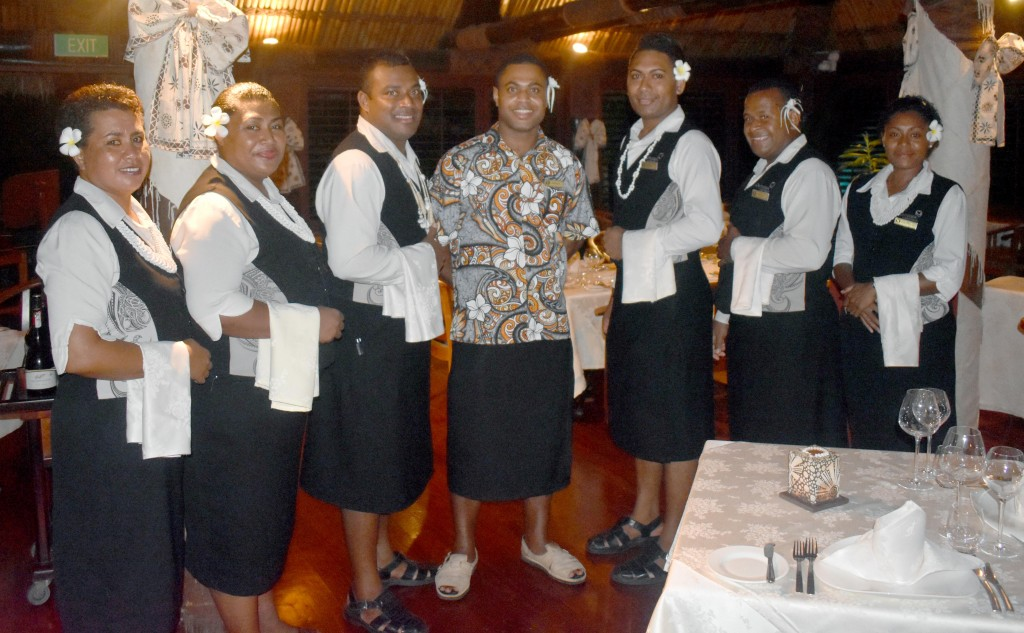 Multi Award Winning Fine Dine 'IVI' Restaurant staff. Photo: WAISEA NASOKIA