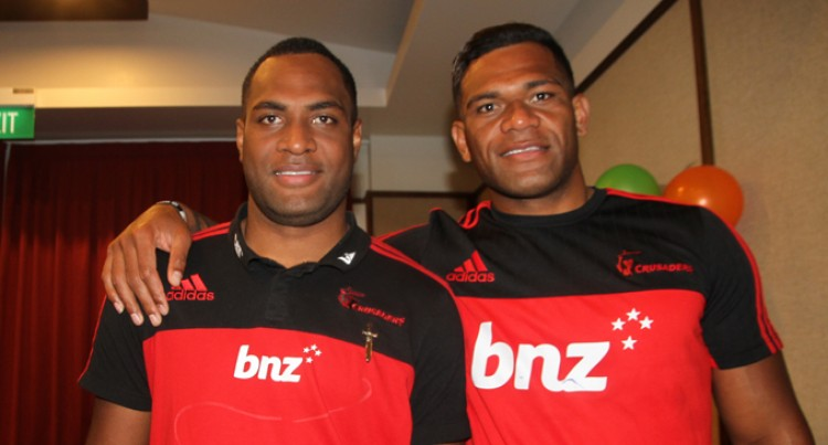 Fijian Duo Thrilled
