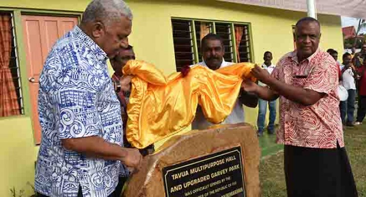 PM in Tavua: Equal Attention for All