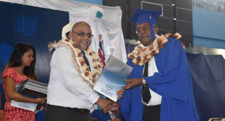 Executive MBA Student Thanks Lecturers