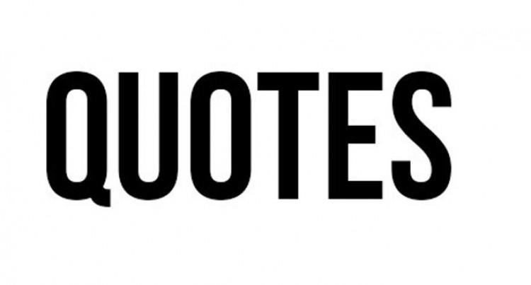 Quotable Quotes In Parliament