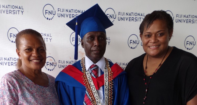 Solomons Dr Gets New Degree