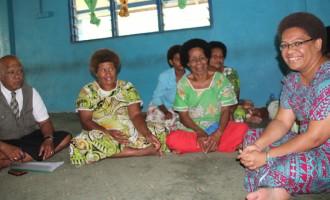Vuniwaqa Visits Women's Group Of Interior Naitasiri