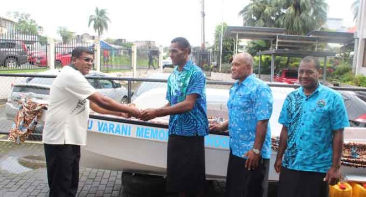 Kadavu School Gets New Boat And Engine