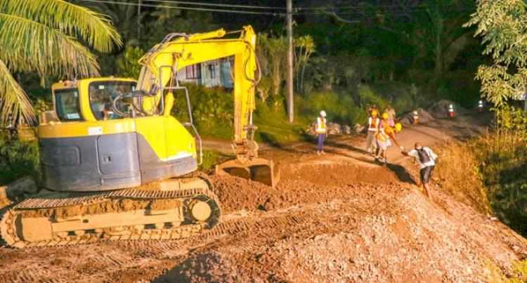 Works Finalised On Davuilevu Farm Road