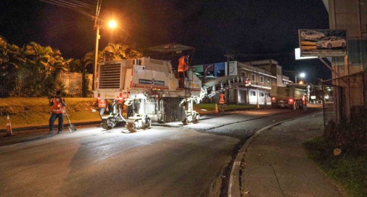 Waimanu Road Gets Upgrade