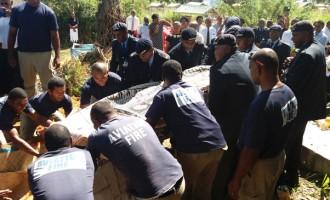 Vakacegu Farewell, Accorded Water Salute