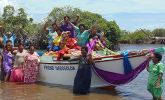 New Boats For Ra Coast Villages