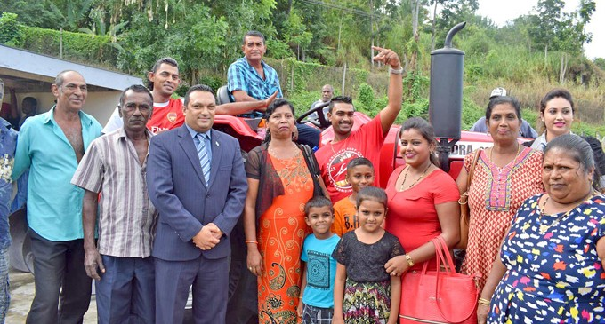 Govt Assists Prasad Family in Farming