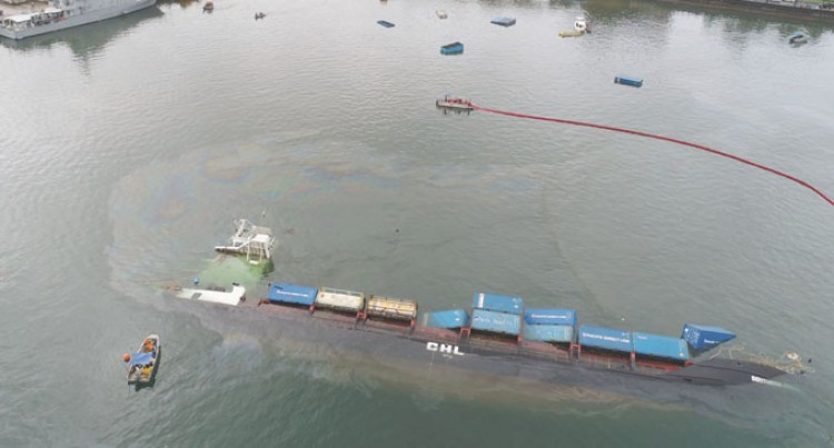 Marine Salvage Team From NZ Assess MV Southern Phoenix Incident