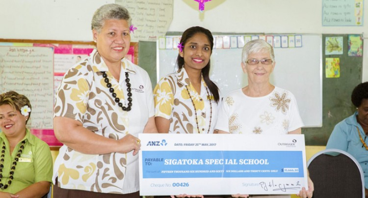 Over $15K boost For Sigatoka Special School