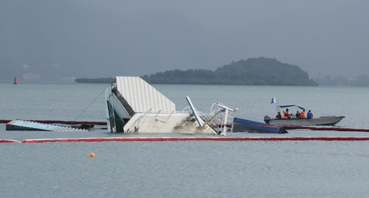 Fijian Navy Secure Submerged Containers