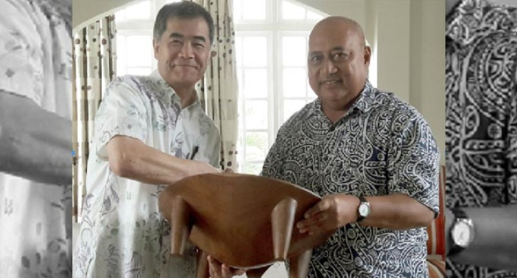 Fiji bids Japan envoy Hanatani farewell