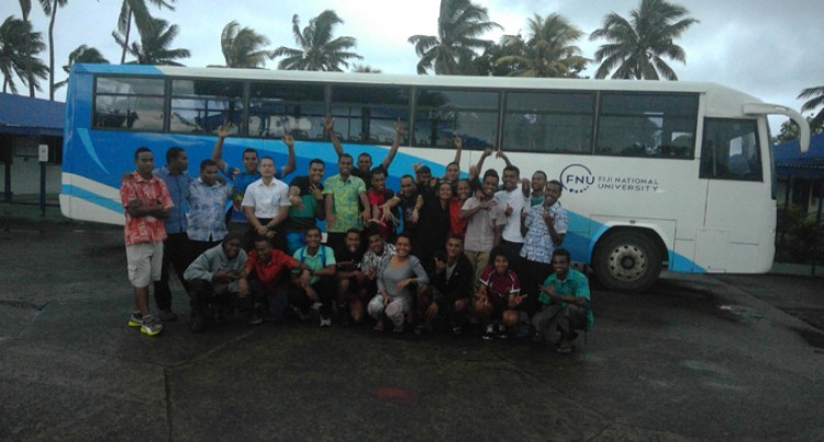 Fiji Navy facilitates Boot Camp For Fiji Maritime Academy Cadets