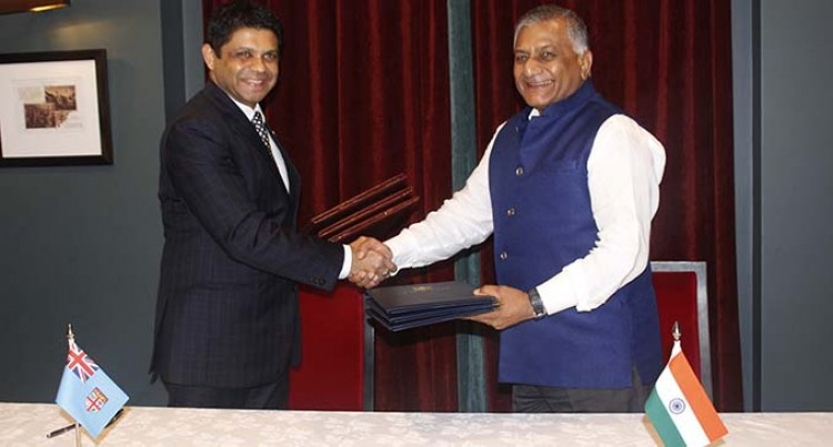 Fiji, India Sign MOU for IT Centre Here