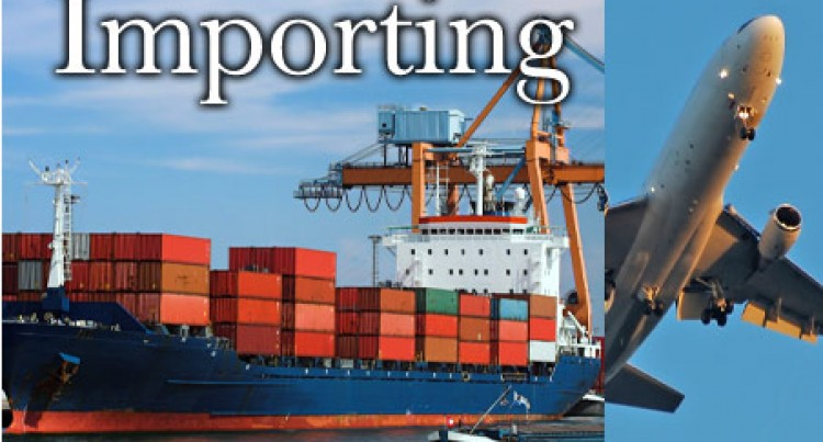Stats Show Increase In Imports