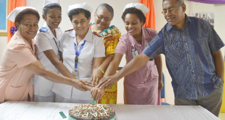 Nurses Sacrifice Daily To Serve Others: Tikoibua