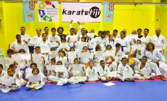 Karate Fiji Continues To Grow